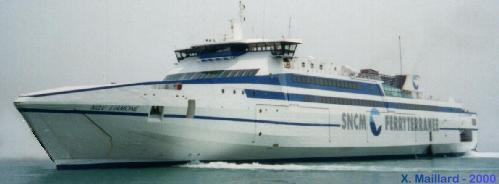 "FERRY-WEB - ""NGV Liamone"" (Photo X. Maillard 1er Juin 2000)"